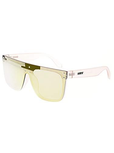 (Quay Women's #QUAYXKYLIE Hidden Hills Sunglasses, Pink/Pink, One Size)