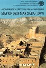 Map of Deir Mar Saba, Patrich, J., 9654060094