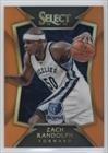 Zach Randolph #20/60 (Basketball Card) 2014-15 Panini Select Orange Prizm #69