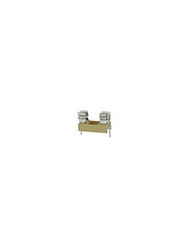 Velleman FUSE/HL PCB Fuse Holder, 1 Grade to 12 Grade, 5 mm x 20 mm, 6 Amp Ratings ()