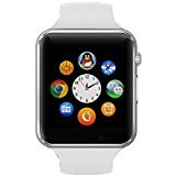Cawono A1 Smart Watch Phone Mate SIM GSM SD Slot With Camera for Android Samsung HTC LG Moto Phone Black 1.54