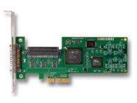 LSI Logic LSI00154 LSI20320IE 1CH U320 SCSI PCI Express 1 Int 1 Ext Channel Lp Leadfree Controller by LSI Logic