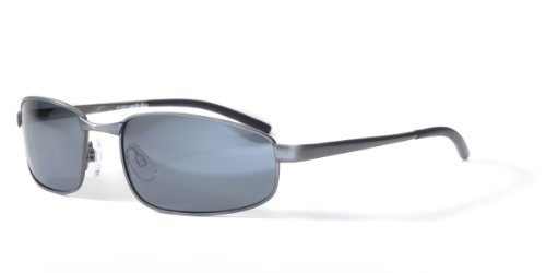 Bloc Square P135 Gunmetal Square Sunglasses Polarised Golf, Cycling, - Bloc Sunglasses Golf