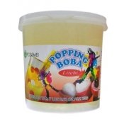 Lychee Popping Boba (Four 7-lbs tubs) *CASE* by Unknown