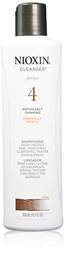 Nioxin System 4 Cleanser Shampoo, 10.1 oz (Packaging may vary) (Cleanser Therapy 4 Scalp)