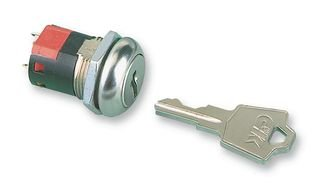 C & K COMPONENTS Y1011U2C203NQ Y Series 4 Tumbler SPDT 90° 4A@125 Vac 28 Vdc Solder Lug Switch Lock - 2 item(s)