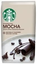 Starbucks Mocha Flavored Ground Coffee 11oz (Pack of 2)
