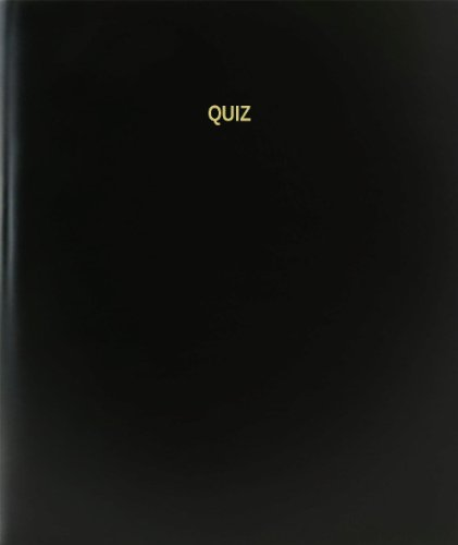 BookFactory® Quiz Log Book / Journal / Logbook - 120 Page, 8.5