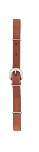 Weaver Leather Straight Leather Curb Strap, Canyon Rose