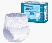 Paper Pak Attends Underwear - Paper Pak Attends Underwear Extra Absorbancy Extra Large - Pack of 14 - Model ap0740