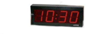 Wmu Ip Poe 4 Digit 4 Inch Clock (Pack Of 1)