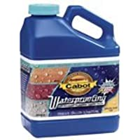 Cabot 31243 01-1000 Waterproofing Sealer, Crystal Clear, 1 gallon by Cabot