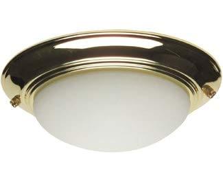Craftmade Bowl Light Kits - Craftmade LKE53CFL-PB 2 Light Elegance Bowl Fan Light Kit