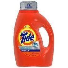 Tide 2X Concentrated Original Scent High Efficiency Detergen