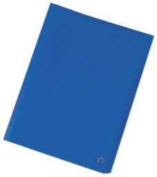 Softcover Book Display (5 Star Display Book Soft Cover Lightweight Polypropylene 40 Pockets A4 Blue)