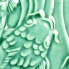 AMACO Lead Free Non Toxic Glaze & 1 Pint Plastic Jar - Turquoise Green Lg-25