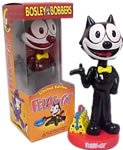 Felix The Cat~ Felix The Cat BobbleHead~ Rare BobbleHead From Bosley Bobbers!!