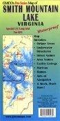 (Smith Mountain Lake Virginia Waterproof GMCO's Pro Series Map)