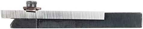 WABECO Abstechstahl Halter 10x10 mit 1 Messer HSS Abstechhalter Drehmeißel