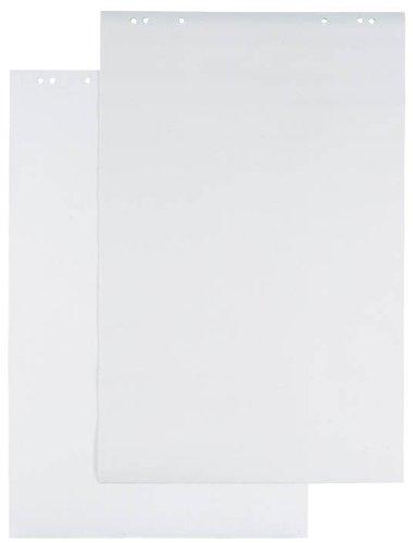 DURABLE 866802 - Blocco di ricambio per lavagna a fogli mobili, a quadretti, 20 fogli, 68x100 cm, bianco