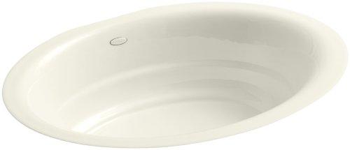 KOHLER K-2832-96 Garamond Undercounter Bathroom Sink, Biscuit ()