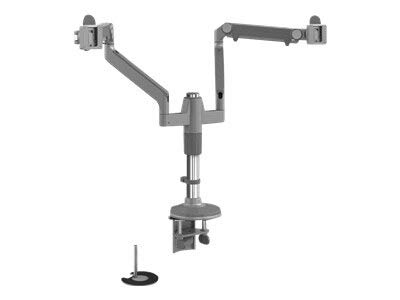 Humanscale M/Flex Dual-Monitor Mounting Arm with dual Bolt/Clamp Mount (Model ()