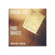 Suk: Piano Quartet in E Flat Major Op 1; Dvorak: Piano Quartet Op 87