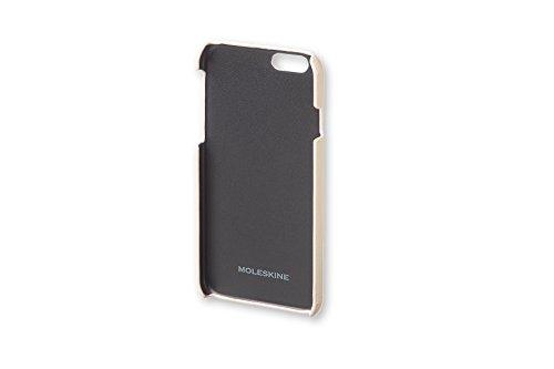 Moleskine Classic Hard Case for iPhone 6 Plus/6S Plus, Khaki Beige