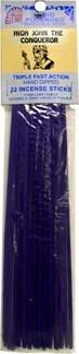 強力なIndian Incense Sticks高ジョンThe Conqueror B006349210