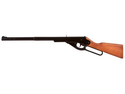 Daisy Outdoor Products, Buck BB Youth Lever Action Air Rifle, 177 Caliber, BB, Wood Stock Blue ()