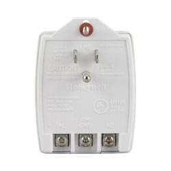 Honeywell Ademco K10145WH Two-Prong Transformer f/ Lynx Plus, White