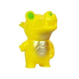 Pocket Mummy Gator YELLOW Edition Kaiju Designer Vinyl Figure by Brian Flynn