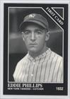 Eddie Phillips (Baseball Card) 1993 The Sporting News Conlon Collection - [Base] #980