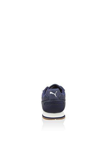 Puma ST Runner Canvas Schuhe peacoat-silver-white-gum - 37