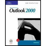 New Perspectives on Microsoft Outlook 2000 : Introductory, Romero, Robin, 061902058X