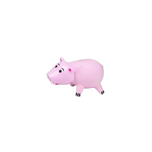 Paladone Toy Story Piggy Bank | Premium Ceramic Money Box for Kids & Adults | Keep Your Coins Safe in an Official Replica of Hamm | Nobody Look Till I Get My Cork Back, Pink
