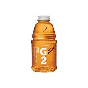 Gatorade G2 Sports Drink, Orange, Low Calorie, 32-Ounce Bottles (Pack of 12)
