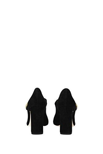 Dolce & Gabbana Donne Pompa - Camoscio (cd0883a1275) Eu Nero