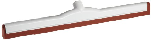 Zephyr 43522 Red Neoprene Moss Plastic Squeegee Curved He...