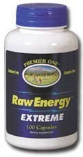 Premier One - Raw Energy Extreme, 100 capsules by Premier ()