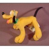Mcdonalds 2001 Disney's House Of Mouse Plush Bendy Pluto Doll Figure, 4'' Tall
