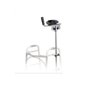 Crutch Platform Attachment (Drive Medical Replacement Clamps for Universal Platform Walker/Crutch Attachment - 1 Pair, 10105C)
