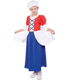 [Betsy Ross Girl Costume] (Betsy Ross Hat)