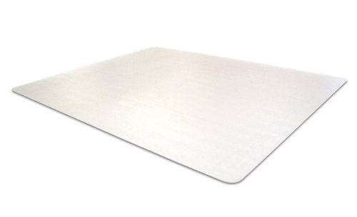 Cleartex MegaMat, Heavy Duty Chair Mat, for Hard Floors or Carpets, 46'' x 53'' (FCM121345ER) by Floortex