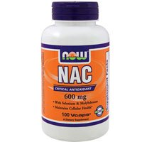 Nac-Acetyl Cysteine, 600 mg, 100 Caps by Now Foods (Pack of 3)