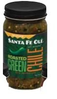 - Santa Fe Ole Roasted New Mexico Green Chile Medium, 16oz (Pack of 6)