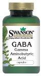 GABA 500 mg 100 Caps par Swanson Premium