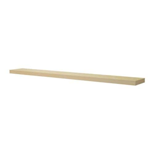 IKEA Lack Wall Shelf Birch Effect 601.037.50 Size 74 3/4x10 1/4