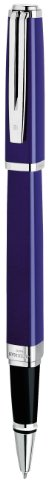 Waterman Exception Slim Blue Lacquer - Waterman Exception Slim Blue, Rollerball Pen with Fine Black refill (S0637150)