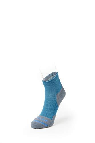 FITS Light Hiker – Quarter Socks, Biscay Bay, M ()